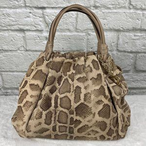 Charles David Python Leather Hobo